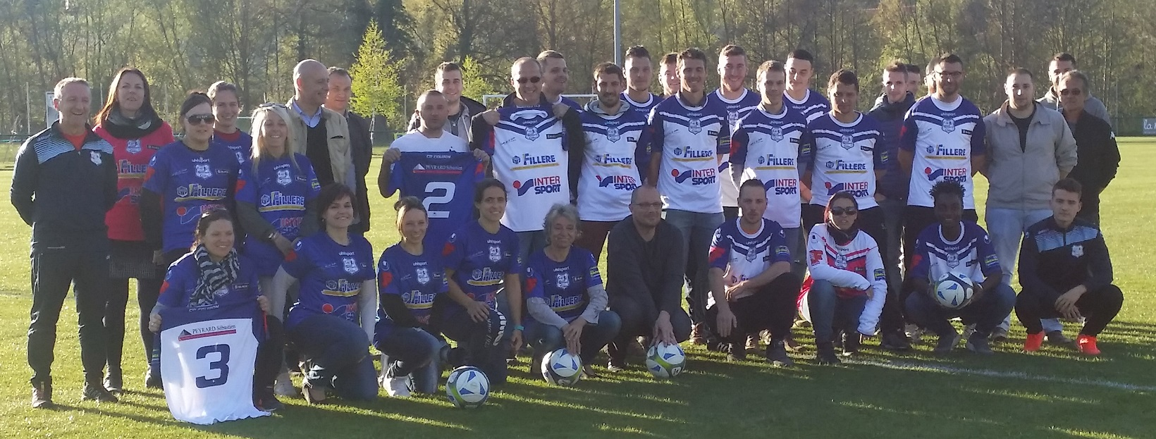 REMISE MAILLOTS 2016-2017